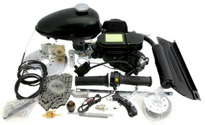 Bike Gas Motor Kit How To Install 48cc Kit Bicycle Motor Engine Kit