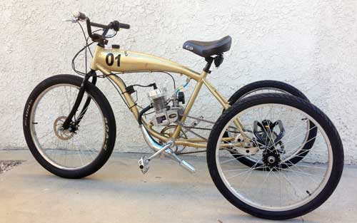 Bikes To Trikes Conversion Kits this is a custom kit and